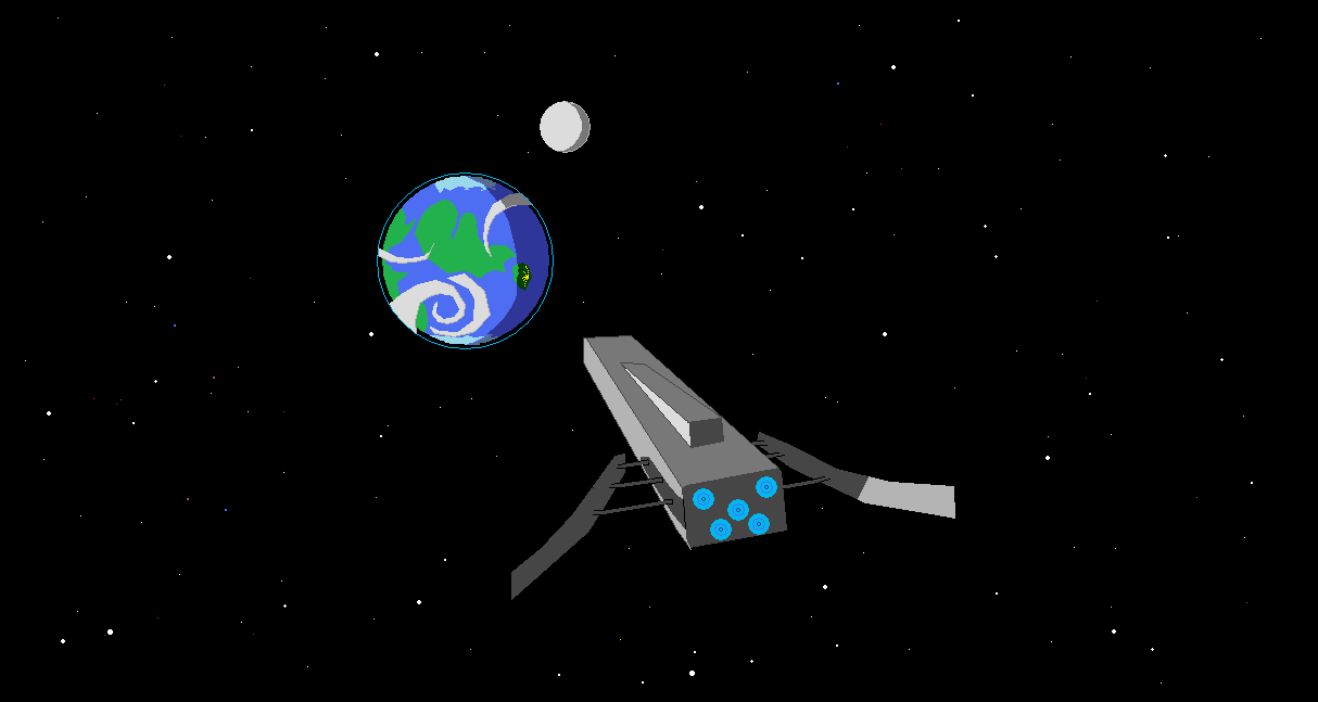 A cool spaceship png image